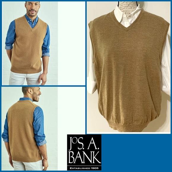 J.O.A. Other - J.o.A.Bank Men's Wool Tan Vest